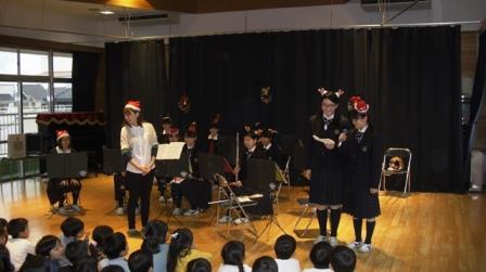 吹奏楽部クリスマス1